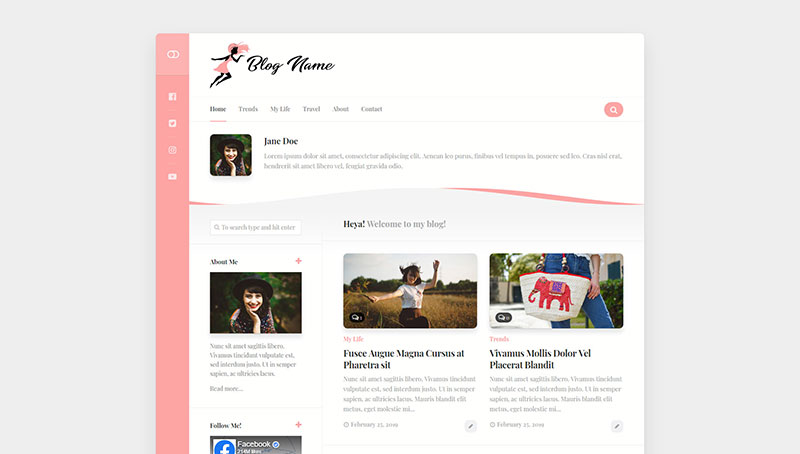 personal feminine blog
