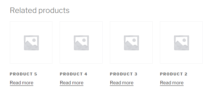 woocommerce related products text