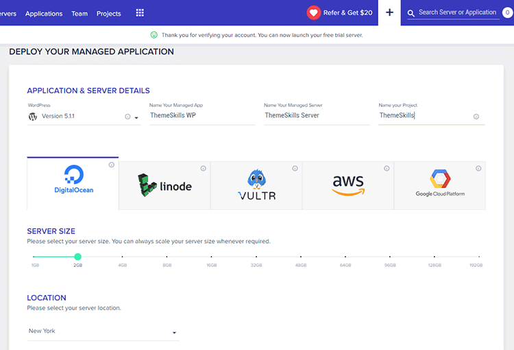 deploy application cloudways