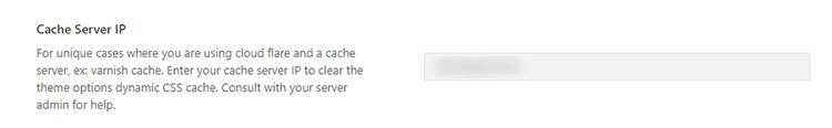 cache server ip avada
