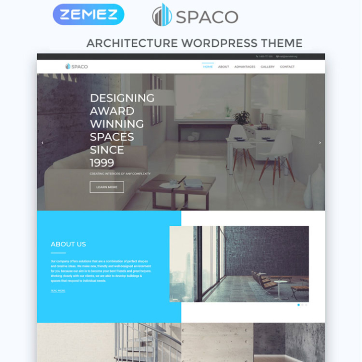 spaco construction wordpress theme
