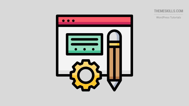 blog post widget