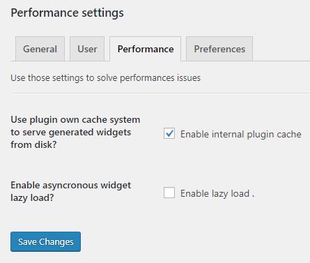 dareactions performance settings