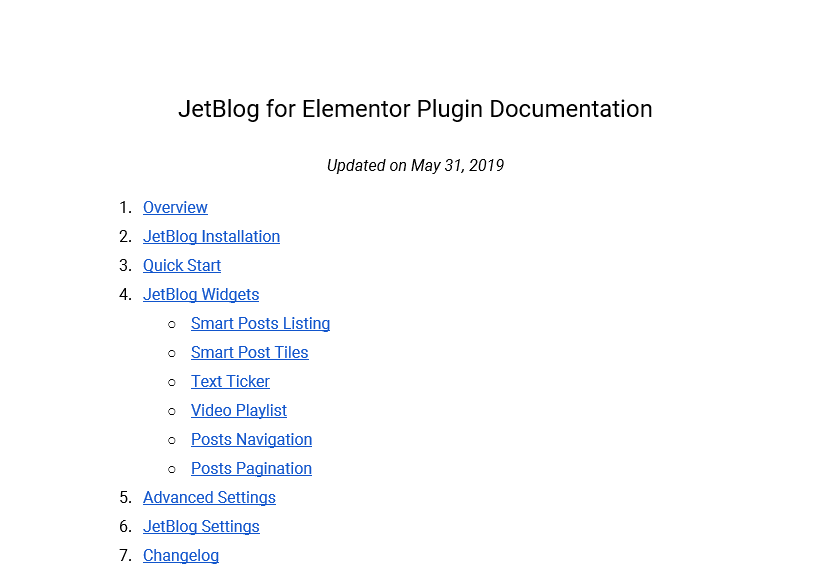 jetblog plugin documentation