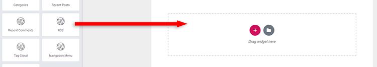elementor rss widget